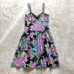 Floral Skater Dress w/ pockets